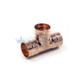 Copper Equal Solder Tee 22mm