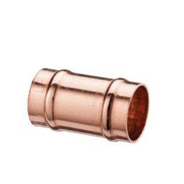 Copper Straight Solder Coupler 22mm