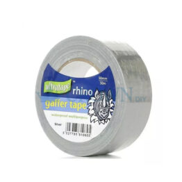 Rhino 50mm Multipurpose Gaffer Tape | Silver, 50mtr