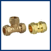 Brass & Compression Copper Fittings