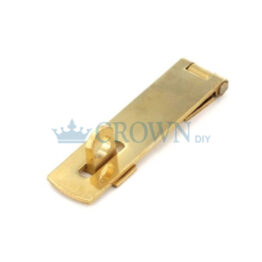 Securit 63mm Brass Hasp & Staple | S1463