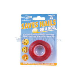 Bond It Saves Nails On a Roll Extra Strong Double Sided Adhesive Tape