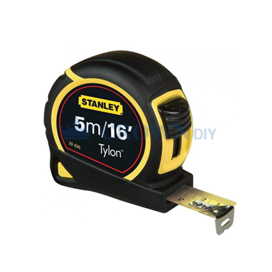 Stanley Tape Measure with Tylon Blade 5m x 19mm 0-30-696