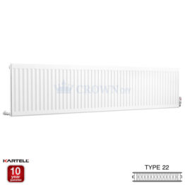 Kartell Kompact D524K 500 x 2400mm Type 22 Radiator
