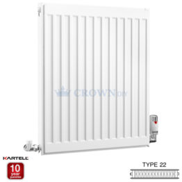 Kartell Kompact D605K 600 x 500mm Type 22 Radiator