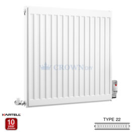 Kartell Kompact D606K 600 x 600mm Type 22 Radiator