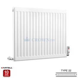 Kartell Kompact D607K 600 X 700mm Type 22 Radiator