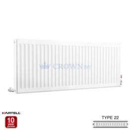 Kartell Kompact D612K 600 x 1200mm Type 22 Radiator