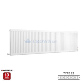 Kartell Kompact D620K 600 x 2000mm Type 22 Radiator