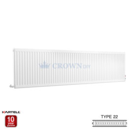 Kartell Kompact D622K 600 x 2200mm Type 22 Radiator