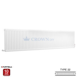 Kartell Kompact D624K 600 x 2400mm Type 22 Radiator