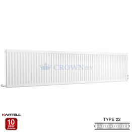 Kartell Kompact D627K 600 X 2700mm Type 22 Radiator