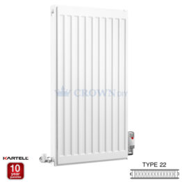 Kartell Kompact D704K 750 X 400mm Type 22 Radiator