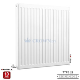Kartell Kompact D707K 750 x 700mm Type 22 Radiator
