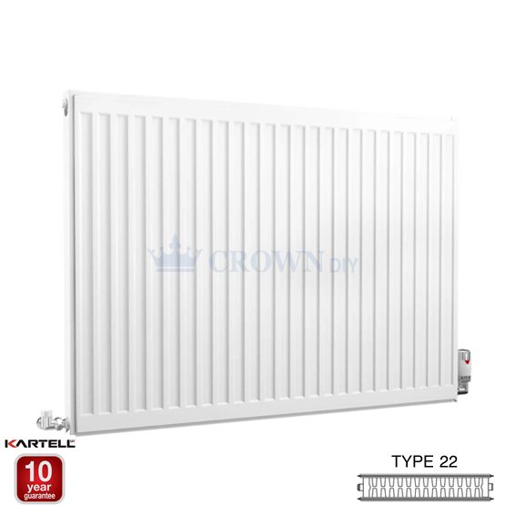 Kartell Kompact D910K 900 x 1000mm Type 22 Radiator