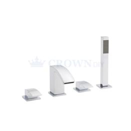Kartell Flair 4 Hole Bath Shower Mixer Tap | TAP006FL