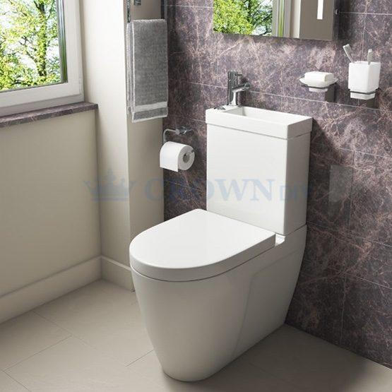 Kartell Mini Combo 2-In-1 Toilet & Basin | POT955CM