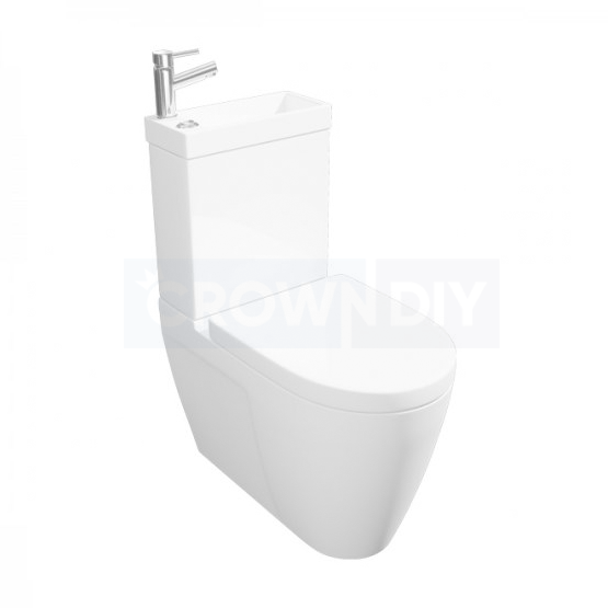 Kartell Mini Combo 2 In 1 Toilet & Basin POT955CM