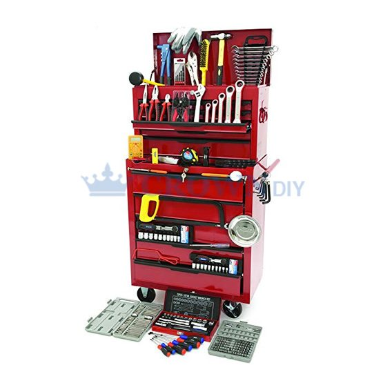 Hilka 271 Piece Tool Kit Inc Heavy Duty Tool Chest And Cabinet | TK270