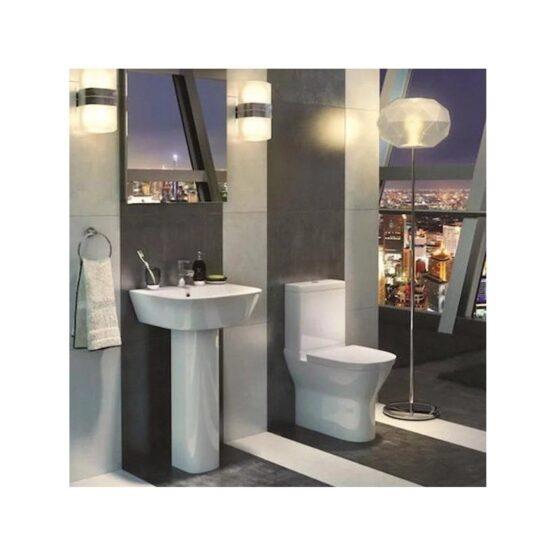 Kartell Project Round WC Includes Pan, Cistern & Soft Close Seat