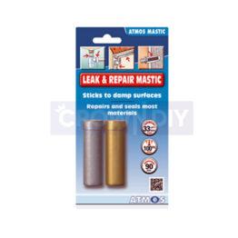 Atmos Mastic 2 Part Epoxy Leak & Repair Mastic - Metal & Plastic Pipe Work 80g