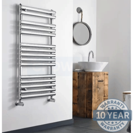 Kartell Ohio Designer Polished Stainless Steel Towel Rail