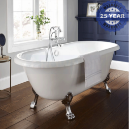 Kartell Astley Traditional Freestanding Bath 1750 X 760mm