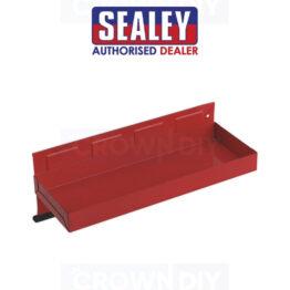 Sealey APTT310 Magnetic Tool Red Steel Storage Tray 310 x 115mm