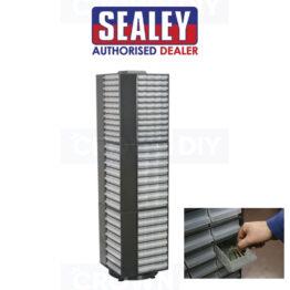 Sealey APTT320 Freestanding Rotating Tool Cabinet Storage System Drawers Garage Workshop